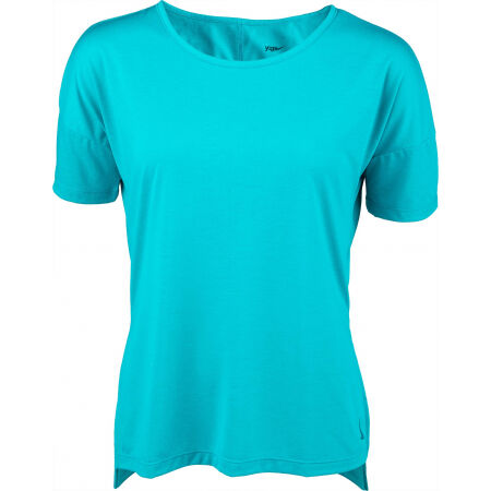 Nike SHORT-SLEEVE YOGA TRAINING TOP - Dámske tričko na jogu