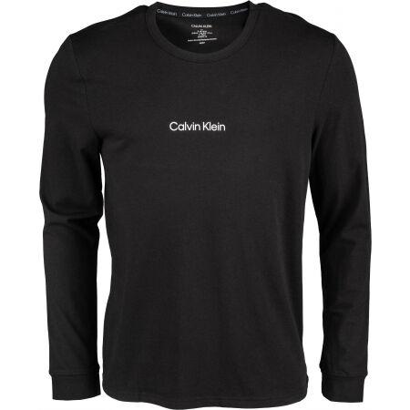 Calvin Klein L/S CREW NECK - Мъжка блуза с дълъг ръкав