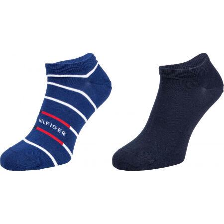 Tommy Hilfiger MEN SNEAKER 2P BRETON STRIPE - Мъжки чорапи
