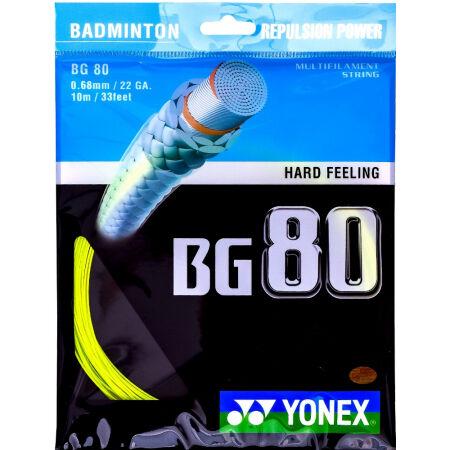 Yonex BG 80 - Кордаж за бадминтон ракета