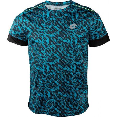 Lotto RUN&FIT TEE PRT PL - Koszulka męska do biegania