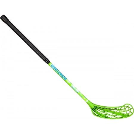 Florbalová hokejka - HS Sport MORTENSEN 32 GREEN 70CM - 1