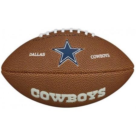 NFL MINI TEAM LOGO - Mini míč pro americký fotbal - Wilson NFL MINI TEAM LOGO
