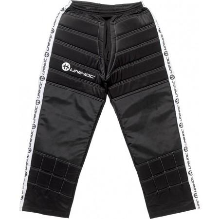 Kids' floorball goalie pants - Unihoc GOALIE PANTS BLOCKER JR