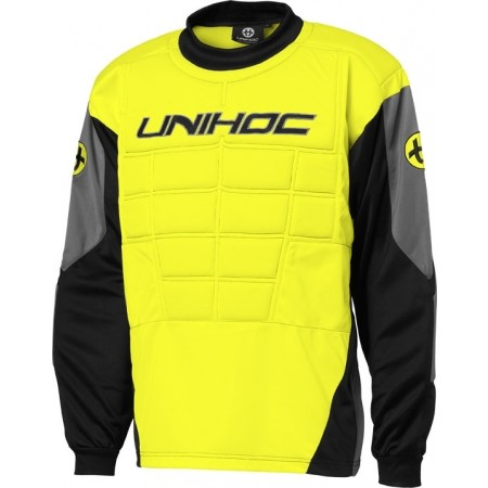 Kids' goalie jersey - Unihoc GOALIE SWEATER BLOCKER JR
