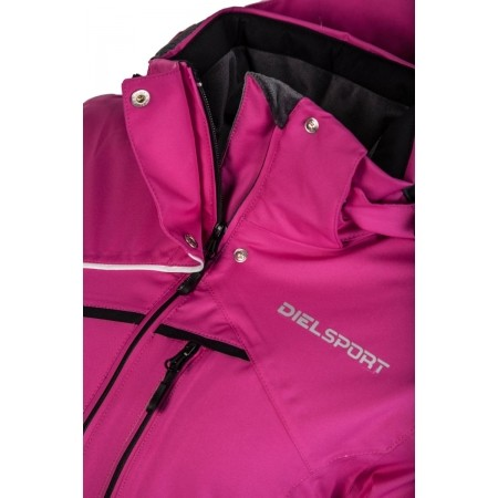 Dámská lyžařská bunda - Diel SEMI LONG SKI JACKET - 3