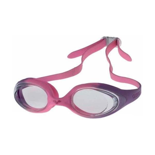 Arena SPIDER JR różowy  - Okulary do pływania dziecięce