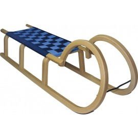 HS Sport HORNED SLEDGE 120CM - Wooden Toboggan