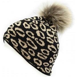 Blizzard LEOPARD BLACK CAP W - Women's Hat