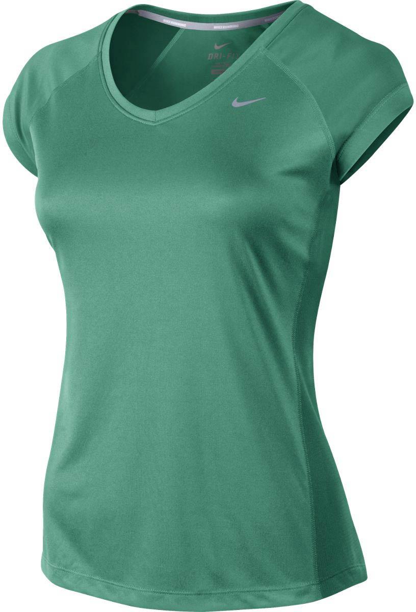 439a6feb729a MILER SS V-NECK TOP - Dámské běžecké tričko