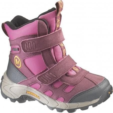 MOAB POLAR MID STRAP - Detská zimná obuv - Merrell MOAB POLAR MID STRAP - 1 64cbe21ae33