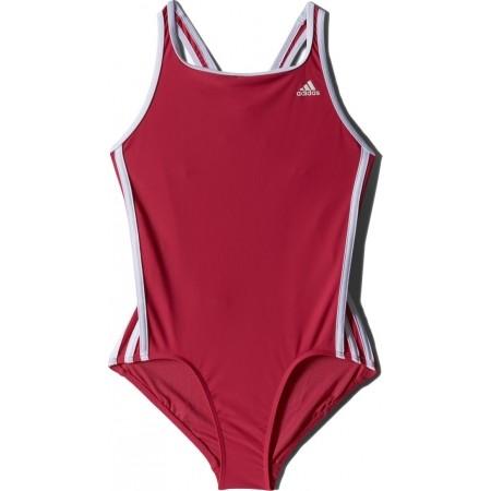 Dievčenské plavky - adidas I 3S 1PC Y - 1