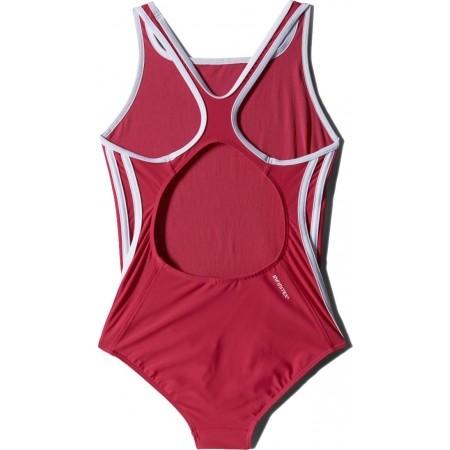 Dievčenské plavky - adidas I 3S 1PC Y - 2
