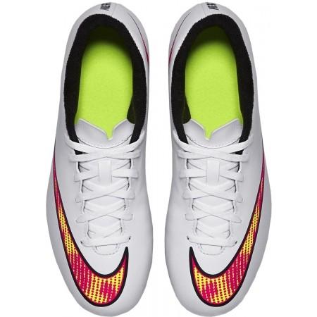 Ghete de fotbal bărbați - Nike MERCURIAL VORTEX II FG - 4