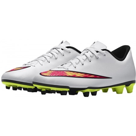 Ghete de fotbal bărbați - Nike MERCURIAL VORTEX II FG - 5