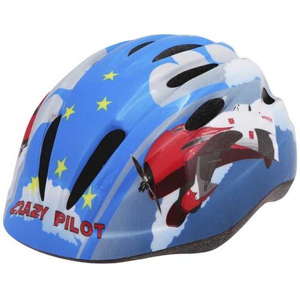 Etape REBEL kék (52 - 56) - Kerékpáros sisak gyerekeknek