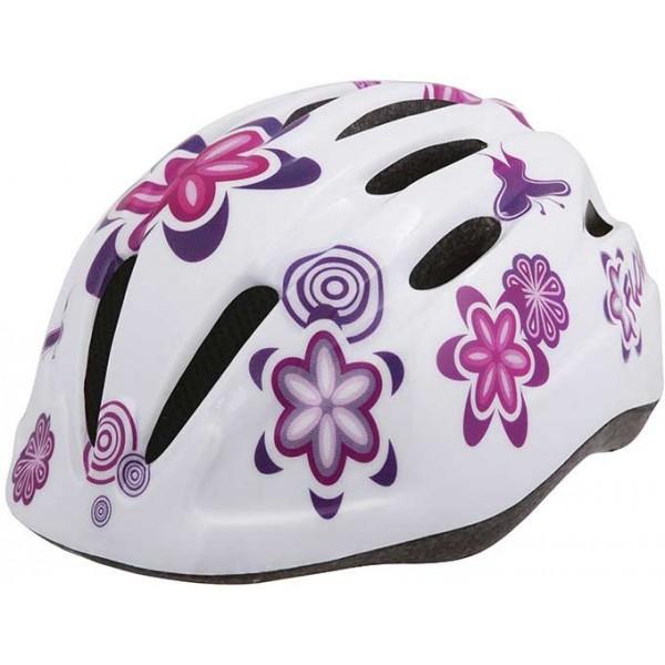 Etape REBEL fehér (52 - 56) - Kerékpáros sisak gyerekeknek