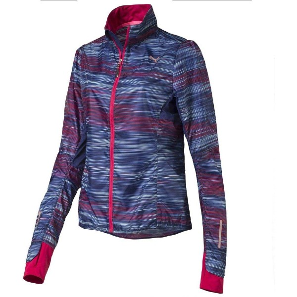 Puma PR GRAPHIC LIGHTWEIGHT JACKET W - Dámska bunda