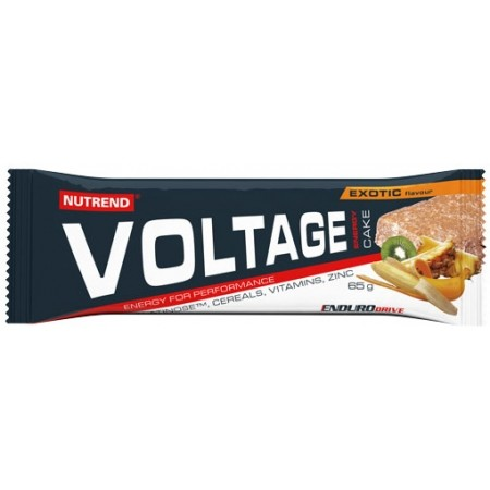 Nutrend VOLTAGE ENERGY CAKE EXOTIC - Tyčinka