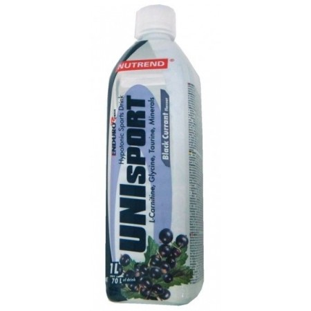 Nutrend UNISPORT ČIERNA RÍBEZĽA - Športový nápoj