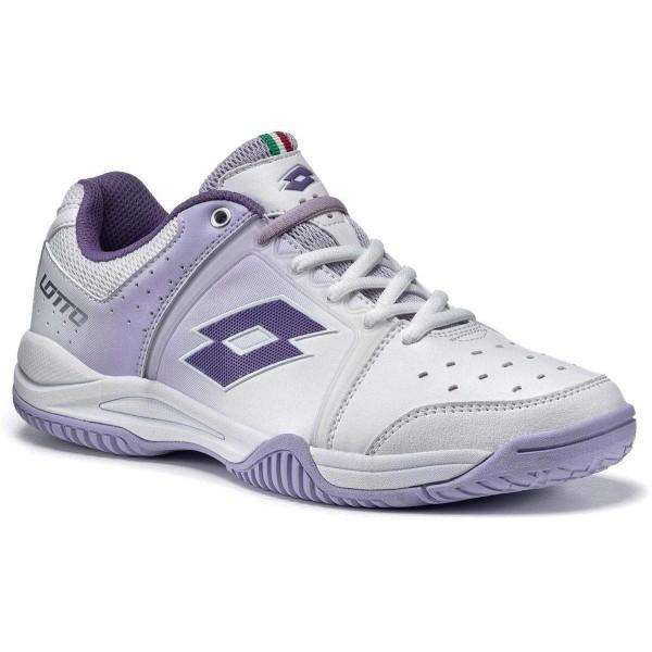 Lotto T-TOUR V 600 W fialová 10 - Dámska tenisová obuv