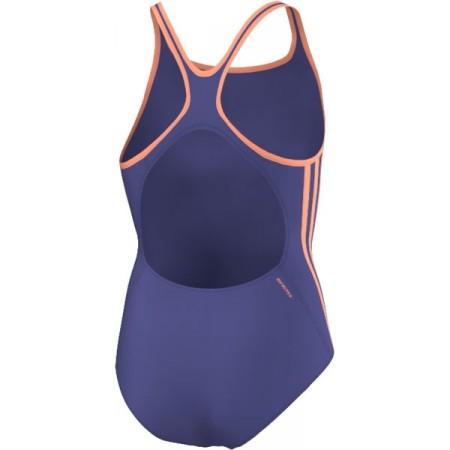 Dievčenské plavky - adidas I 3S 1PC Y - 7