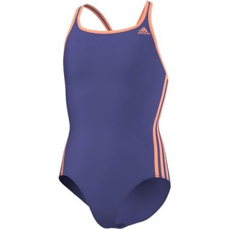 Dievčenské plavky - adidas I 3S 1PC Y - 6