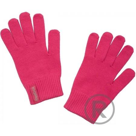 Mănuși de iarnă damă - Reebok LOGO GLOVES - 1