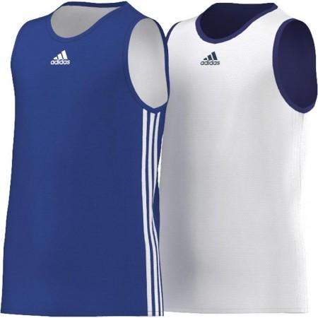 Детска баскетболна фланелка - adidas Y TEAM REV JER - 1