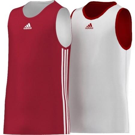 Dětský basketbalový dres - adidas Y TEAM REV JER - 1