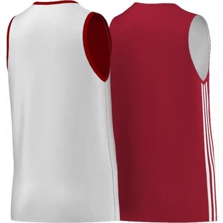 Dětský basketbalový dres - adidas Y TEAM REV JER - 2