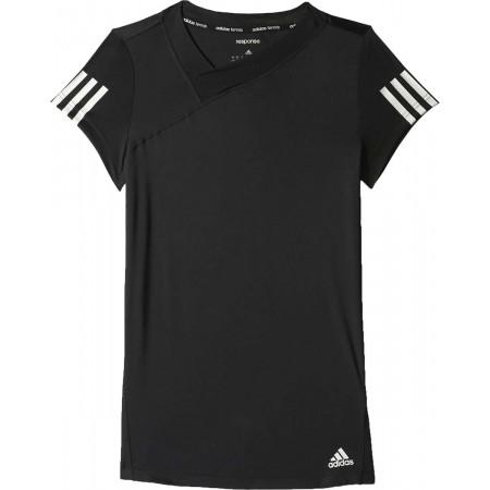 Tricou de damă pentru tenis - adidas RESPONSE TEE - 1