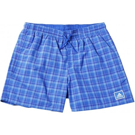 Chlapecké plavecké šortky - adidas CHECK SH ML - 1