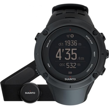 Ambit3 Peak - GPS Watch - Suunto SS020674000 AMBIT3 PEAK BLACK (HR) - 3
