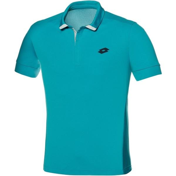 Lotto POLO CARTER modrá L - Pánske polo tričko