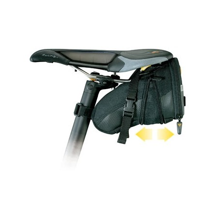 AERO WEDGE PACK-MEDIUM STRAPS - Underseat bag - Topeak AERO WEDGE PACK-MEDIUM STRAPS - 2