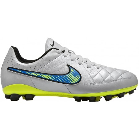 Ghete fotbal de copii - Nike JR TIEMPO GENIO LEATHER AG - 1