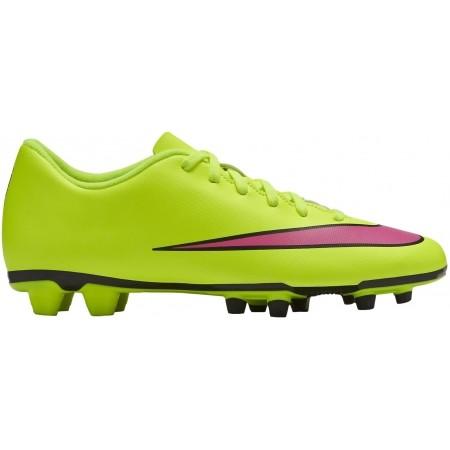 Ghete de fotbal bărbați - Nike MERCURIAL VORTEX II FG - 8