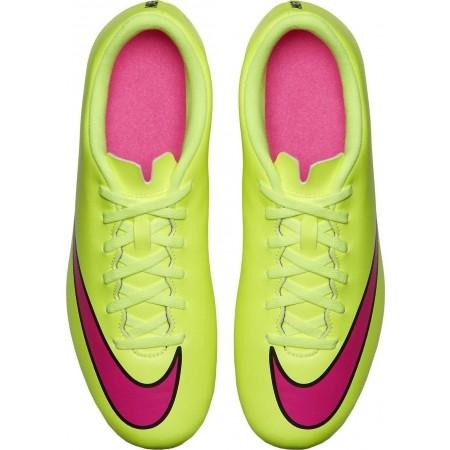 Ghete de fotbal bărbați - Nike MERCURIAL VORTEX II FG - 11