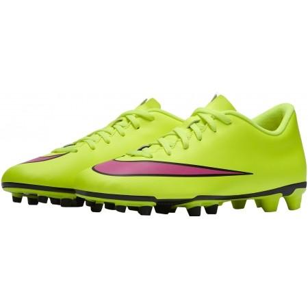 Ghete de fotbal bărbați - Nike MERCURIAL VORTEX II FG - 12