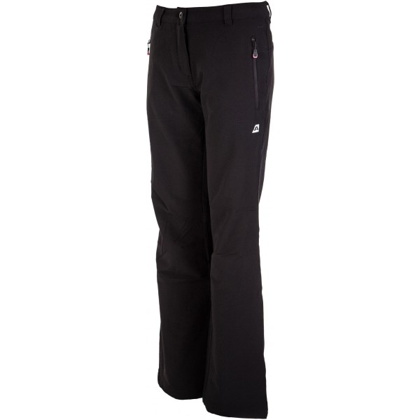 ALPINE PRO EDIA - Dámske softshellové nohavice