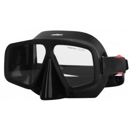 Miton MEDUSA BLACK - Maska do nurkowania młodzieżowa