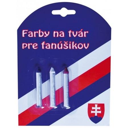 SPORT TEAM FARBY NA TVÁR SR 2 - Farby na tvár