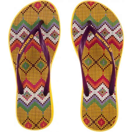 Women's Flip-Flops - Amazonas ENJOY FLIP FLOP - PONTO CRUZ - 4