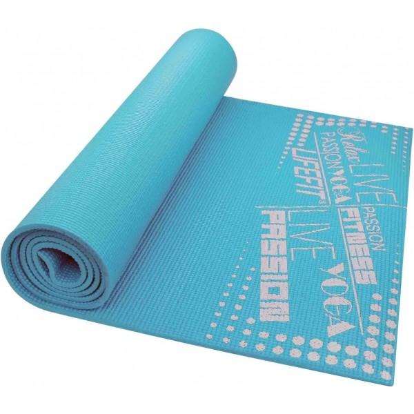 SPORT TEAM LIFEFIT SLIMFIT kék  - Jógaszőnyeg