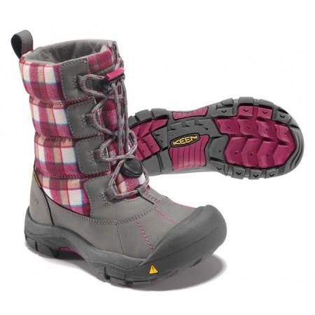 Dětská zimní obuv - Keen LOVELAND BOOT WP K - 4