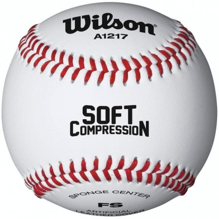 SOFT COMPRESSION  - Piłka baseballowa - Wilson SOFT COMPRESSION - 1