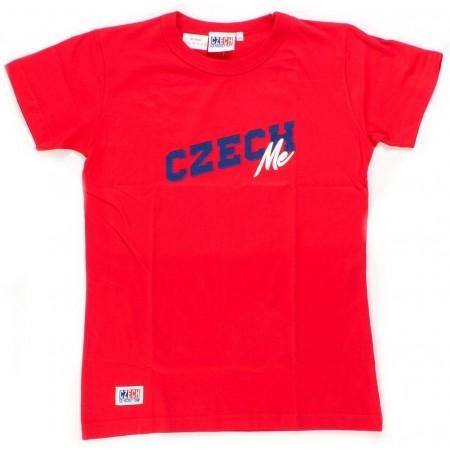 Френска тениска - Střída Czech RED ME