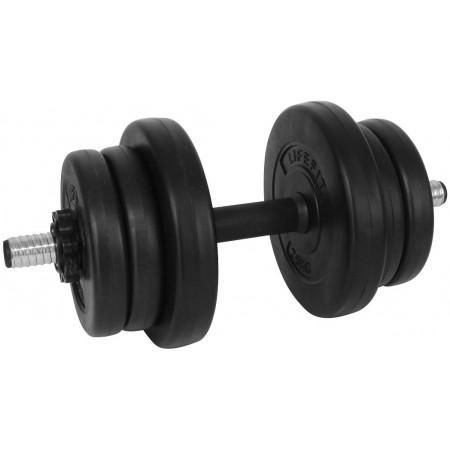 Едноръка гиричка - SPORT TEAM VINYL SET 10kg - 1