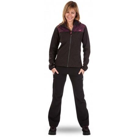 Dámské softshellové kalhoty - ALPINE PRO EDIA - 7